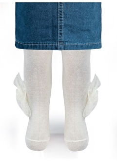 Minidamla Kız Bebek Külotlu Çorap